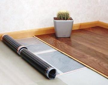 теплый пол под деревянные покрытия
